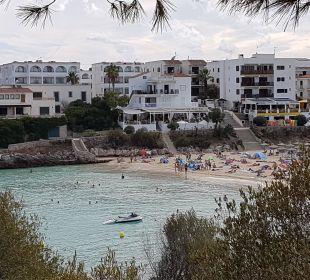 Strand von Porto Colom aus Hotel Ola Club Cecilia
