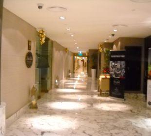Zugang Wellnessbereich Spa Hotel Grand Millennium Al Wahda Abu Dhabi