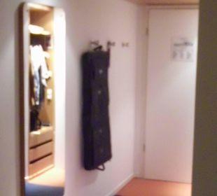 Eingangsbereich Zimmer arcona Hotel am Havelufer