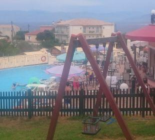 Poolbar Reception Spielplatz Hotel Corfu Pelagos