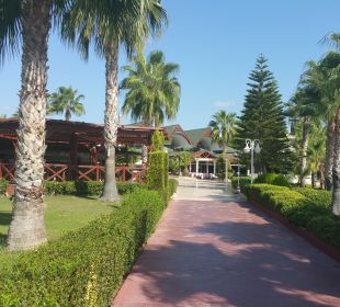 Außenansicht Oz Hotels Incekum Beach