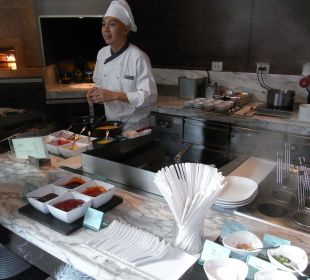 Breakfast Hotel Le Meridien Bangkok