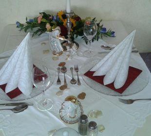 Gedeckter Tisch Hotel Bühlhaus