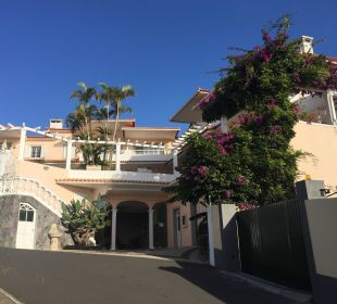 Eingangsbereich Hotel Villa Opuntia