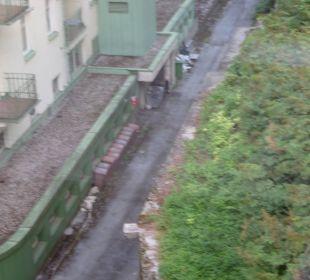 Hinteransicht vom Hotel Hotel Panhans