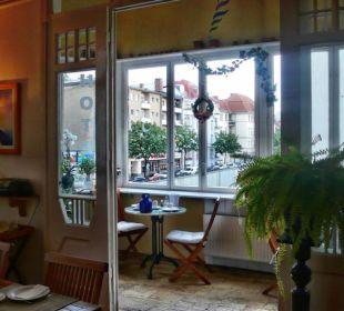 Frühstücksraum Wintergarten Hotel Pension Senta