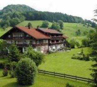 Mühlenhof von Westen Hotel Mühlenhof