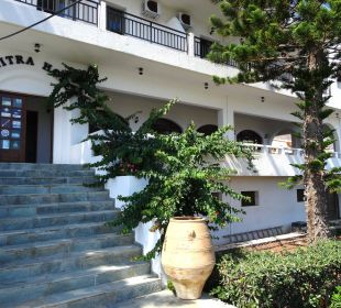 Eingang Hotel Dimitra