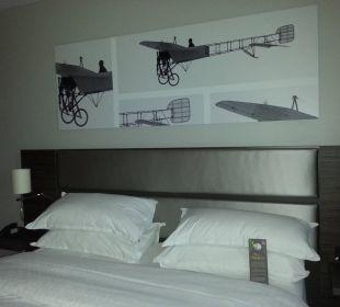 Bed Sheraton Düsseldorf Airport Hotel