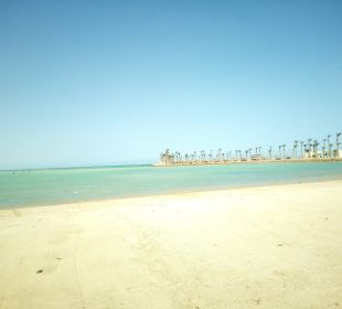 Der hoteleigene Strand