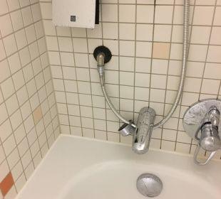 Dusche fällt auseinander Hotel centrovital