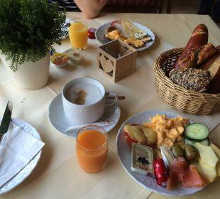 Unsere Frühstücksvariation Hotel Bavaria Berchtesgaden