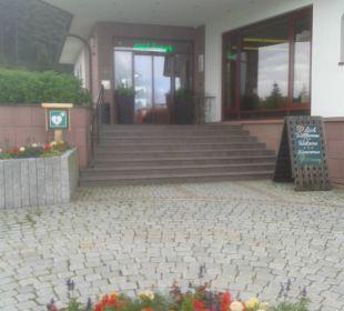 Eingangsbereich Berghotel Mummelsee