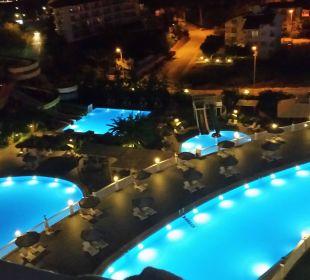 Ausblick vom Balkon  Hotel Defne Defnem