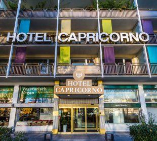 Außenansicht Hotel Capricorno