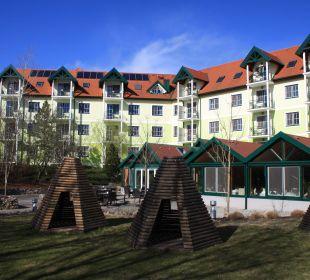 Wintergarten und Hotel Kinderhotel SEMI