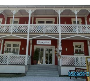 Hotel von vorne Ferienpark Bodetal