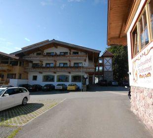 Blick auf Haus Hubertus Landgasthof Reitherwirt & Jagdhof Hubertus