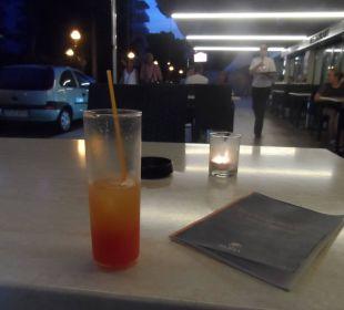 Außenbereich der Lounge Bar Appartments Pabisa Orlando