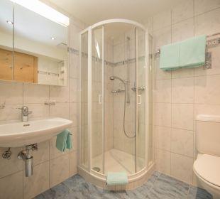 Badezimmer Doppelzimmer ohne Balkon Appartement Panorama
