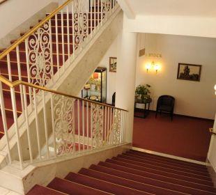 Stiegenhaus Hotel Panhans