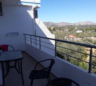 Balkon Hotel Karavos