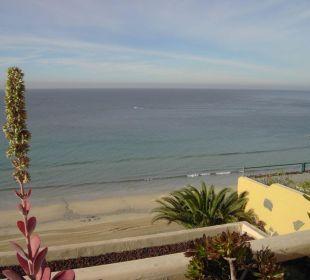 Ausblick v. d. Terrasse Hotel Rocamar Beach