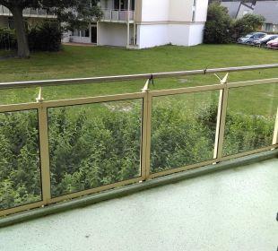 Balkon im Wohnzimmer Apartments Ferienpark Weissenhäuser Strand