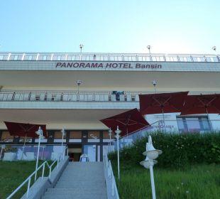 Hotelansicht von der Strandpromenade Panorama Hotel Bansin