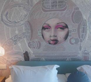 Wandmotiv über dem Bett Mar Azul PurEstil  Hotel & Spa