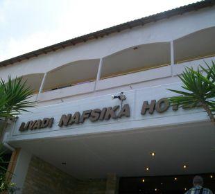 Eingang zum Hotel Hotel Livadi Nafsika
