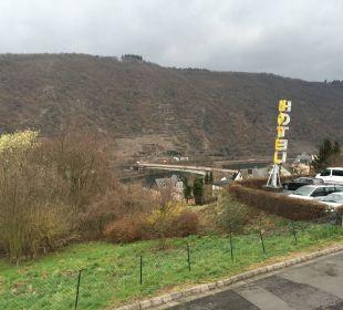 Blick vom Hotel auf die Mosel Moselromantik Hotel Thul