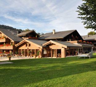 Lange Schatten der Spätsommersonne... Romantik Hotel Hornberg