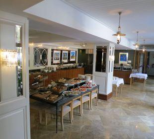 Teil des Restaurantbereiches Hotel Winchester Mansions