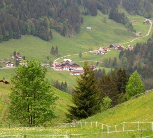Bergblick vom Riezelerner Höhenweg Gasthof Bergblick