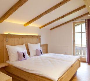Schlafzimmer der Traumferienwohnung Biobauernhof Nothegg