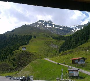 Wunderschöner Ausblick Alpengasthof Pension Praxmar