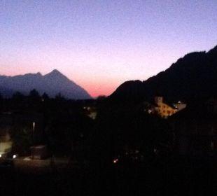 View from hotel balcony Hotel Bellevue