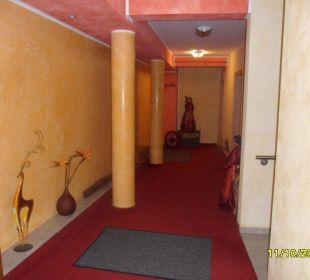 Der Flur vor unserem Zimmer Apart Hotel Wernigerode