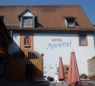 Innenhof Hotel Meisnerhof