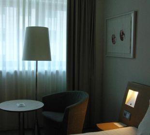 Blick zum Fenster Hotel Novotel Wien City