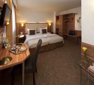 Doppelzimmer Typ comfort City Hotel Ost am Kö Augsburg