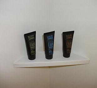 Produkte in der Dusche Crowne Plaza Barcelona - Fira Center