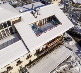 Dächer voll Schnee Gasthof zum Löwen