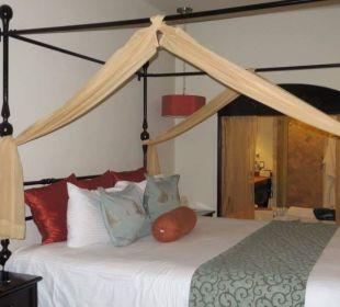 Bett im Zimmer Secrets Maroma Beach Riviera Cancun
