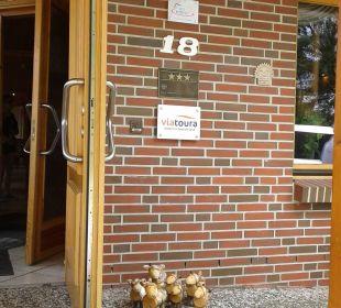 Eingangsbereich Hotel Bockelmann