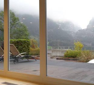 Hallenbadausblick Sunstar Alpine Hotel Grindelwald