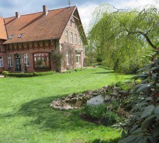 Blick auf die Rezeption Familotel Landhaus Averbeck