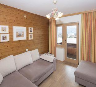 Familienappartement Seenland (50 m2) Wohnzimmer Angerer Familienappartements Tirol