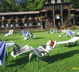 Badestrand Inselhotel Faakersee